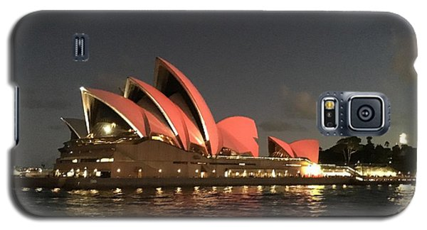 Red Sydney Opera House Galaxy S5 Case