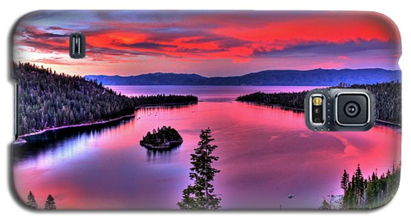 Red Tahoe Galaxy S5 Case by Scott Mahon