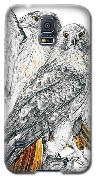 Red-tailed Hawk Galaxy S5 Case