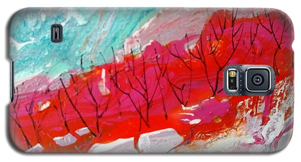 Red Tips Galaxy S5 Case