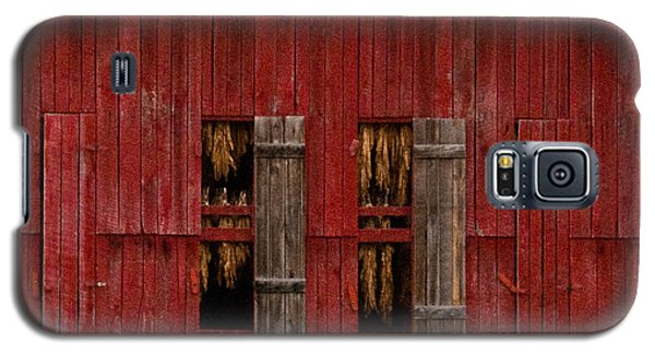 Red Tobacco Barn Galaxy S5 Case