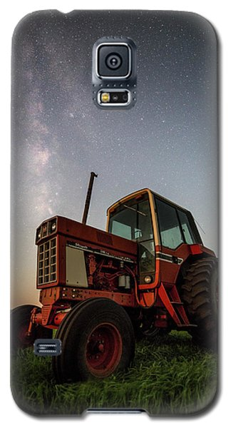 Red Tractor Galaxy S5 Case