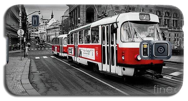 Red Tram Galaxy S5 Case