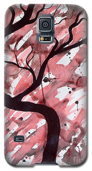 Red Tree Enchantment Galaxy S5 Case