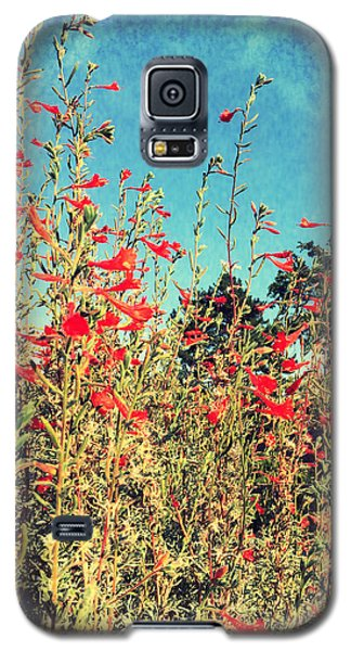 Red Trumpets Playing Galaxy S5 Case