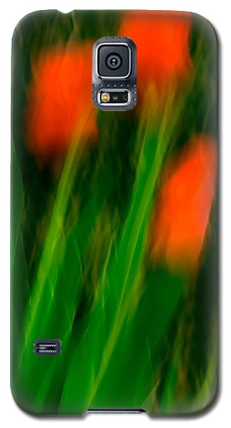 Red Tulips Galaxy S5 Case by  Onyonet  Photo Studios