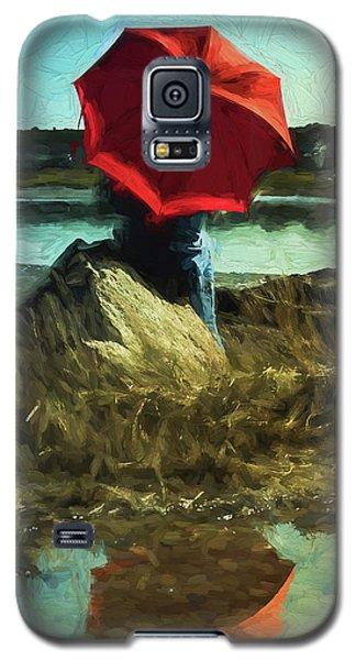 Red Umbrella Galaxy S5 Case