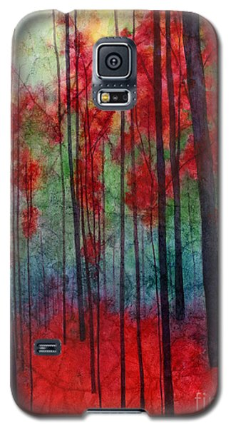 Galaxy S5 Case featuring the painting Red Velvet by Hailey E Herrera