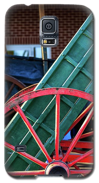 Red Wagon Wheel Galaxy S5 Case