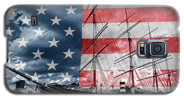 Red White And Blue Galaxy S5 Case