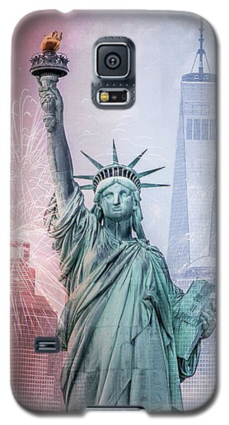 Red, White And Blue Galaxy S5 Case