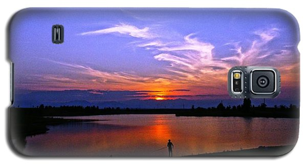 Galaxy S5 Case featuring the photograph Red, White And Blue by Eric Dee