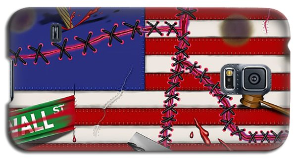 Red White And Bruised IIi Galaxy S5 Case