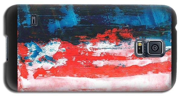 Red White Blue Scene Galaxy S5 Case