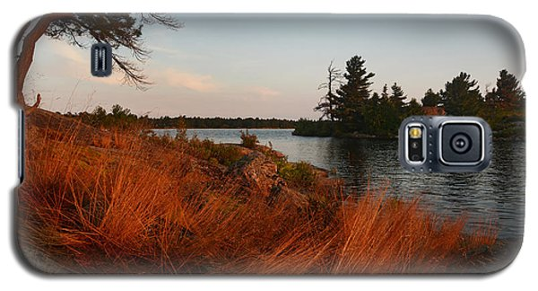 Red Wild Grass Georgian Bay Galaxy S5 Case