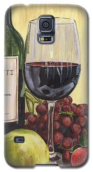 Red Wine And Pear 2 Galaxy S5 Case by Debbie DeWitt
