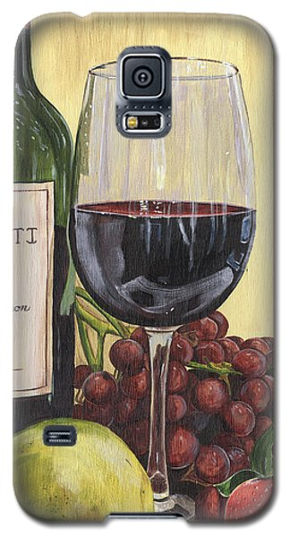 Red Wine And Pear 2 Galaxy S5 Case