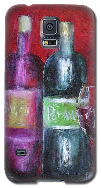 Red Wine Art Galaxy S5 Case