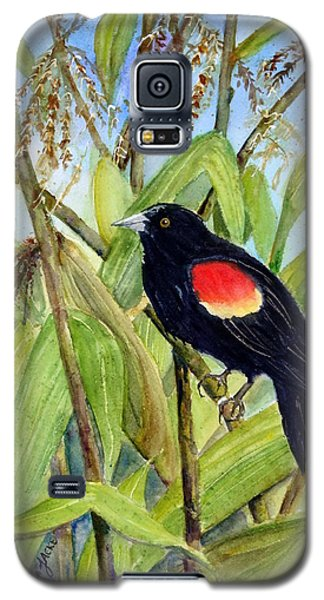 Red-winged Sentry Galaxy S5 Case