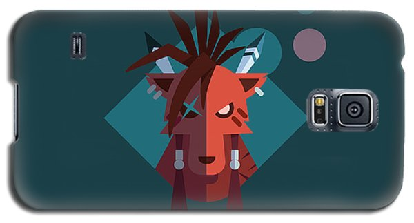 Galaxy S5 Case featuring the digital art Red Xiii by Michael Myers