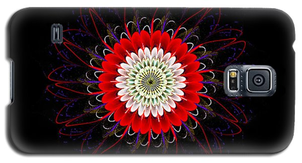 Red Zinnia Galaxy S5 Case