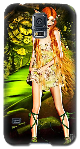 Redhead Forest Pixie Galaxy S5 Case