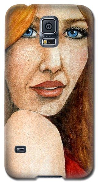 Redhead In October Galaxy S5 Case