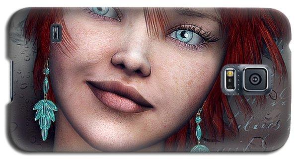 Redhead Galaxy S5 Case