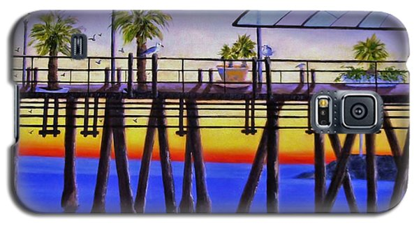 Redondo Beach Pier Galaxy S5 Case