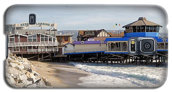 Redondo Beach Pier Shopping Galaxy S5 Case