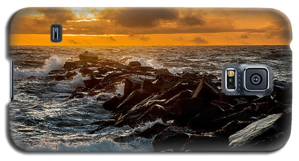 Redondo Beach Sunset Galaxy S5 Case by Ed Clark