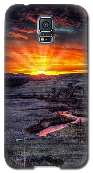 Redwater River Sunrise Galaxy S5 Case