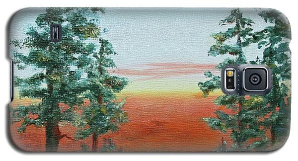 Redwood Overlook Galaxy S5 Case by Roseann Gilmore