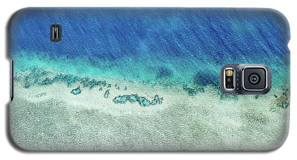 Helicopter Galaxy S5 Case - Reef Barrier by Az Jackson