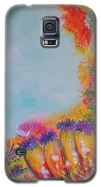 Reef Corals Galaxy S5 Case by Lyn Olsen
