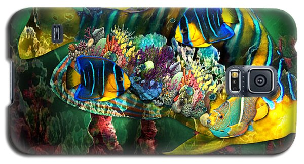 Reef Fish Fantasy Art Galaxy S5 Case
