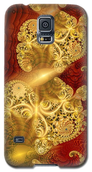 Galaxy S5 Case featuring the digital art Reef Life by Richard Ortolano
