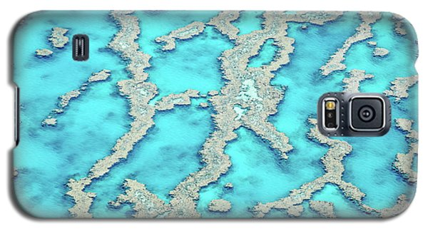 Helicopter Galaxy S5 Case - Reef Patterns by Az Jackson