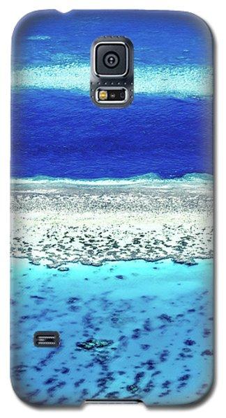 Galaxy S5 Case featuring the photograph Reefs Edge by Az Jackson