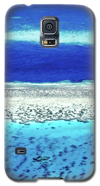 Helicopter Galaxy S5 Case - Reefs Edge by Az Jackson