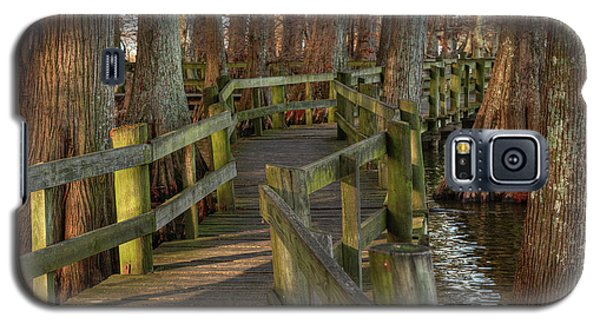 Galaxy S5 Case featuring the photograph Reelfoot Lake 001 by Lance Vaughn