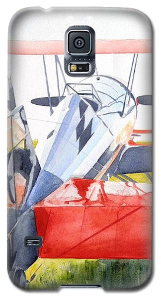 Reflection On Biplane Galaxy S5 Case