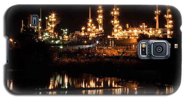 Refinery At Night 1 Galaxy S5 Case