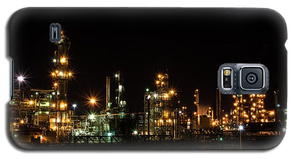 Refinery At Night 2 Galaxy S5 Case