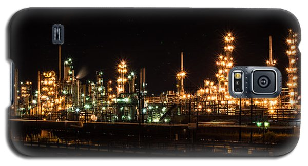 Refinery At Night 3 Galaxy S5 Case