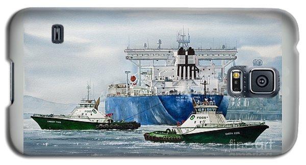 Refinery Tanker Escort Galaxy S5 Case