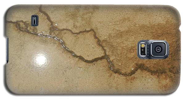 Reflected Sun In Hot Spring Galaxy S5 Case by Jayne Wilson