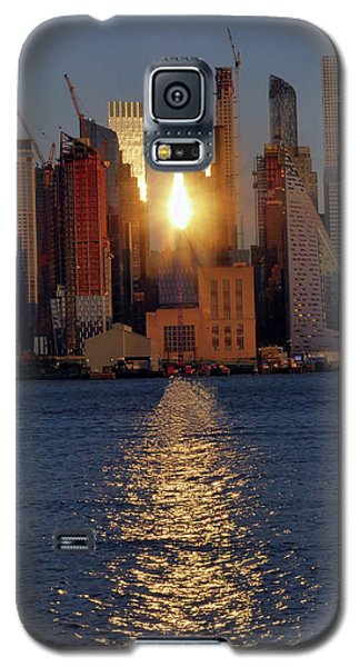 Reflected Sunset Galaxy S5 Case