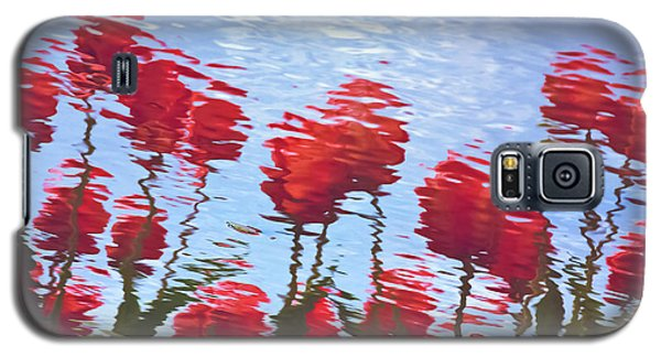 Reflected Tulips Galaxy S5 Case