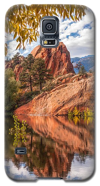 Reflecting At Red Rocks Open Space Galaxy S5 Case